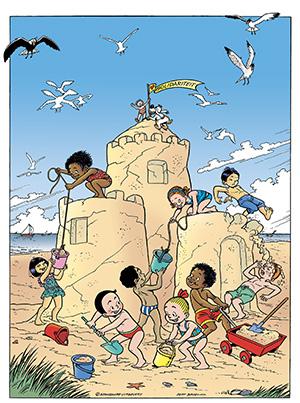 Poster Knokke Heist 2016 Jeff Broeckx